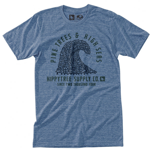 Hippy Tree - Pinewave Tee - T-shirt