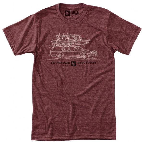 Hippy Tree - Wagon Tee - T-shirt