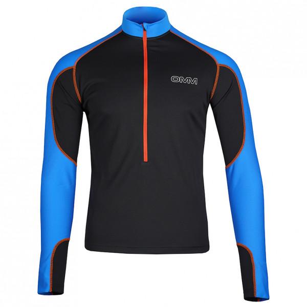 OMM - Meridian Zip L/S - Running shirt