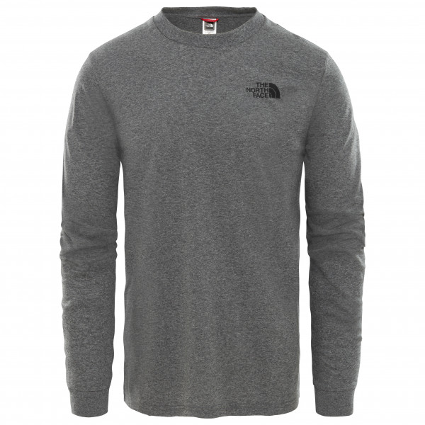 The North Face - L/S Simple Dome Tee Mixed - Longsleeve