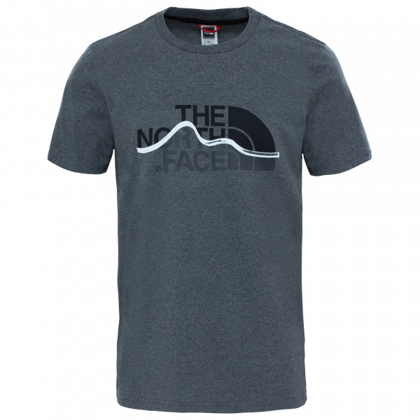 The North Face - S/s Mountain Line Tee Mixed - T-paidat