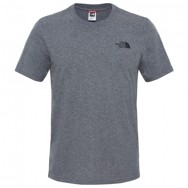 The North Face - S/S Simple Dome Tee Mixed - T-shirt