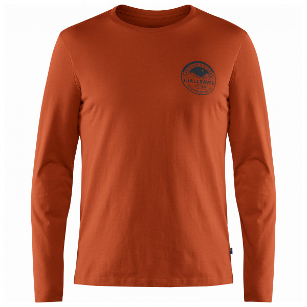 Fjällräven - Forever Nature Badge L/S T-Shirt - Camiseta de manga larga