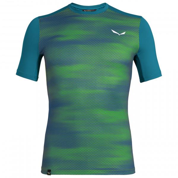 Salewa - Pedroc Print Dry S/S Tee - Sportshirt