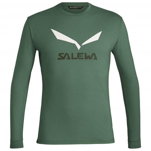 Salewa - Solidlogo Dry L/S Tee - Longsleeve