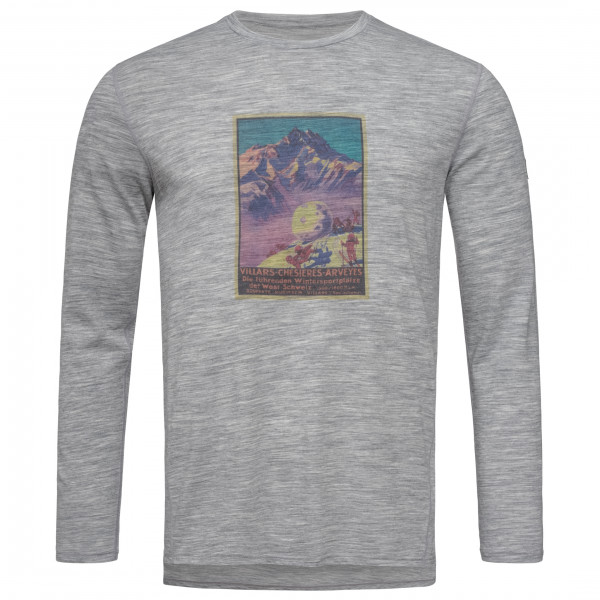 SuperNatural - Digital Print L/S Switzerland Retro - Longsleeve