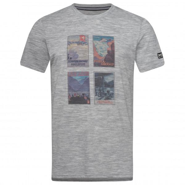 super.natural - Digital Print Tee Switzerland Collage - T-shirt