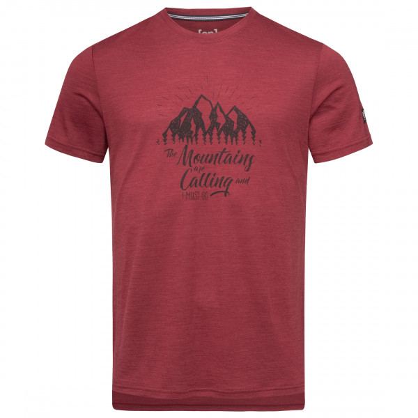 super.natural - Graphic Tee Mountain Print - T-shirt
