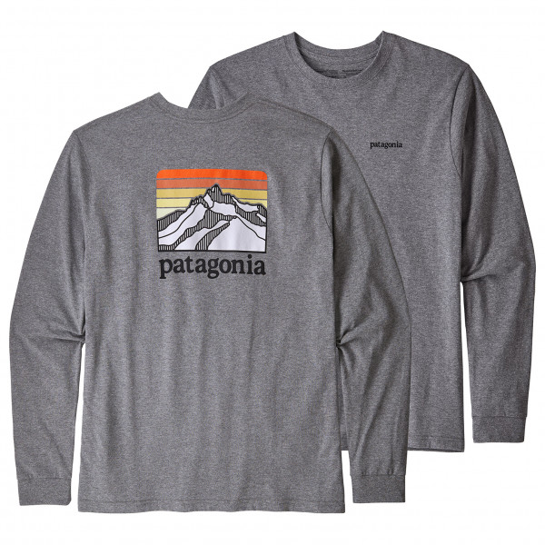 Patagonia - L/S Line Logo Ridge Responsibili-Tee - Longsleeve