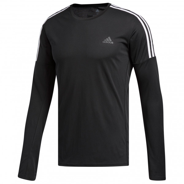 adidas - Run 3-Streifen L/S - Running shirt