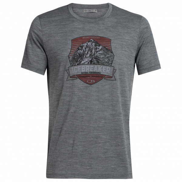 Icebreaker - Tech Lite S/S Crewe Everest Crest - T-shirt