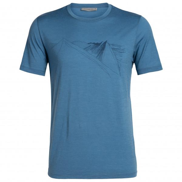 Icebreaker - Tech Lite S/S Crewe Peak In Reach - T-shirt