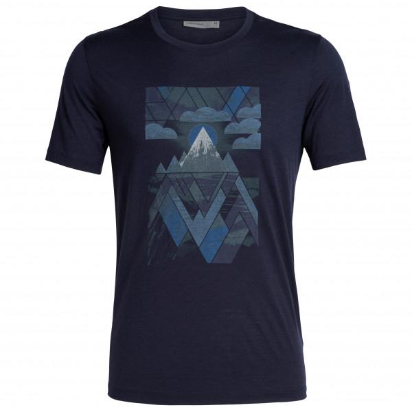 Icebreaker - Tech Lite S/S Crewe Sunset Geo - T-Shirt