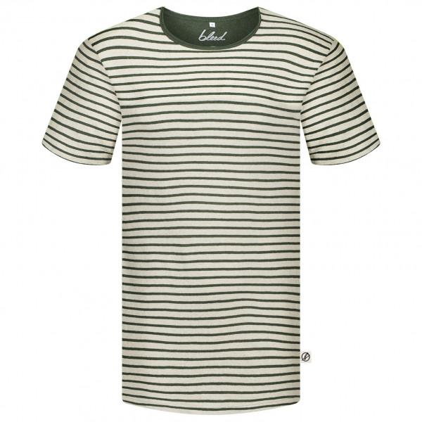 Bleed - Striped T-Shirt Linen - T-Shirt