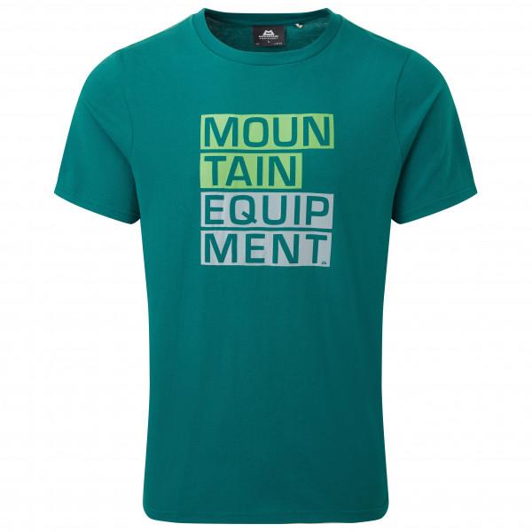 Mountain Equipment - Block Letter Tee - T-shirt
