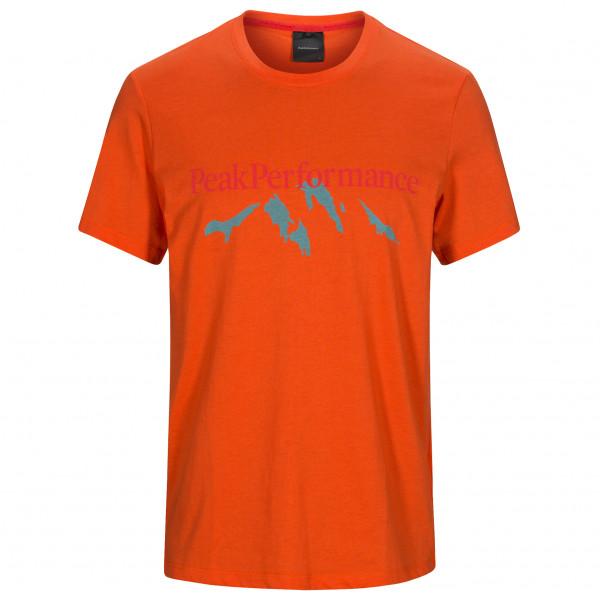 Peak Performance - Explore Tee Mountain Print - T-shirt