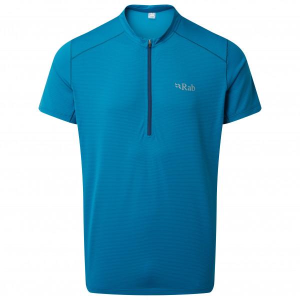 Rab - Sonic S/S Zip - Hardloopshirt
