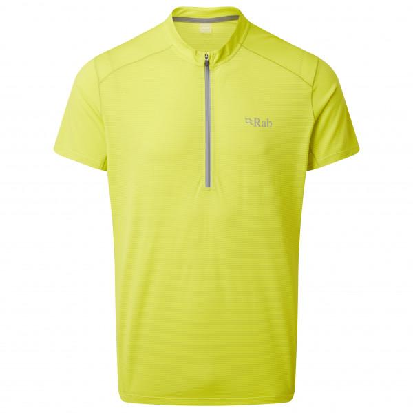 Rab - Sonic S/S Zip - Joggingshirt