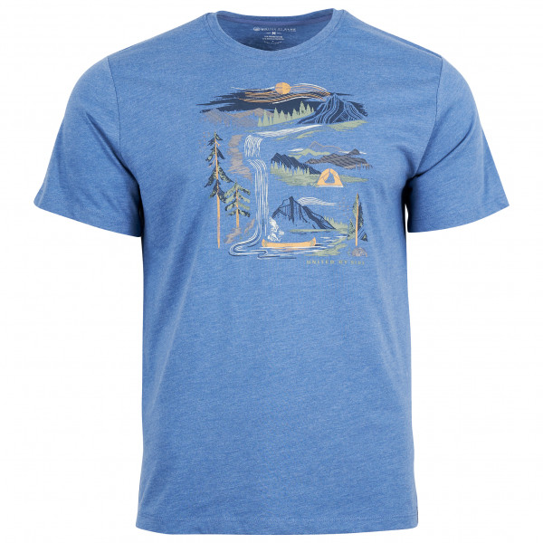 United By Blue - Riverbend S/S 55/45 Graphic Tee - T-shirt