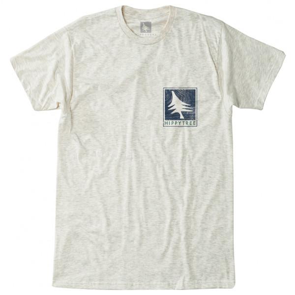 Hippy Tree - Woodgrain Tee - T-shirt