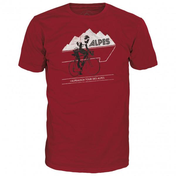 Alprausch - Tour Des Alpes Basic Tee - T-Shirt