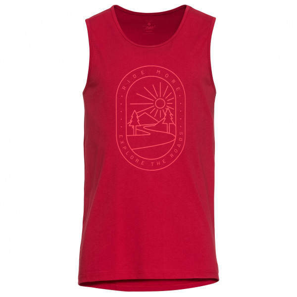 Triple2 - Deel Nul - Organic Cotton Tank-Top - Road - Linne, topp