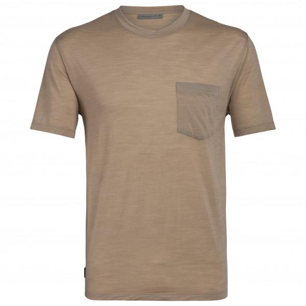 Icebreaker - Nature Dye Drayden S/S Pocket Crewe - T-shirt