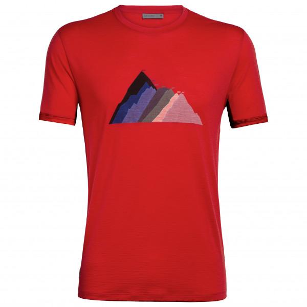 Icebreaker - Spector S/S Crewe Seven Summit Stack - T-Shirt