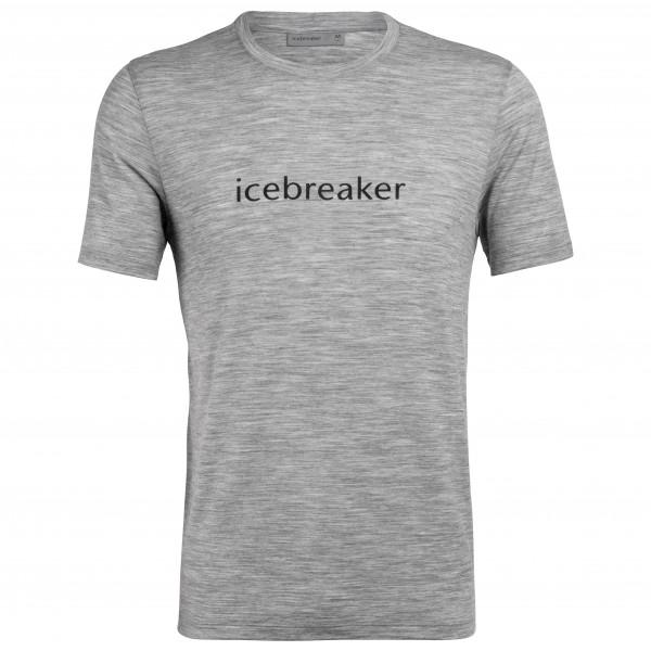 Icebreaker - Tech Lite S/S Crewe Icebreaker Wordmark - T-Shirt