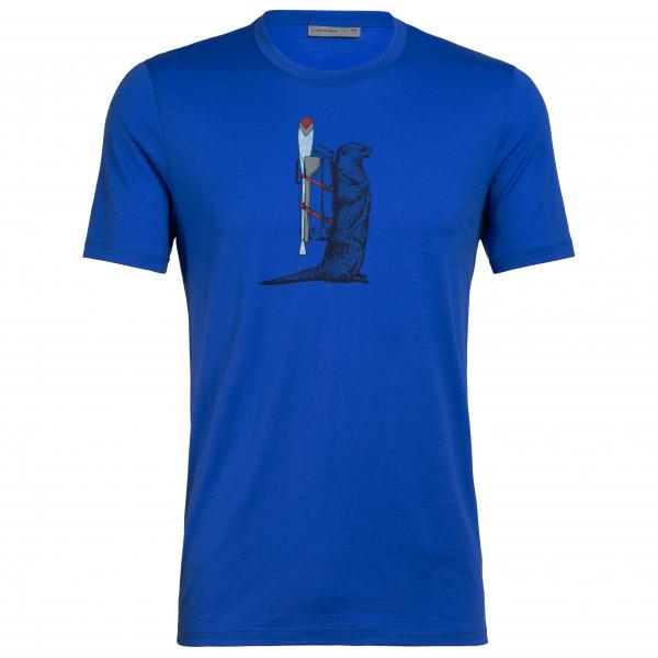 Icebreaker - Tech Lite S/S Crewe Otter Paddle - T-Shirt