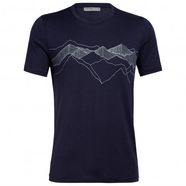 Icebreaker - Tech Lite S/S Crewe Peak Patterns - T-Shirt
