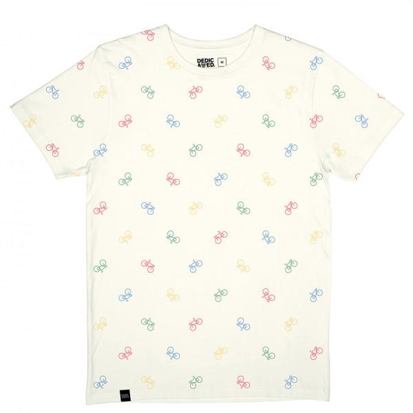 DEDICATED - T-Shirt Stockholm Bike Pattern - T-shirt