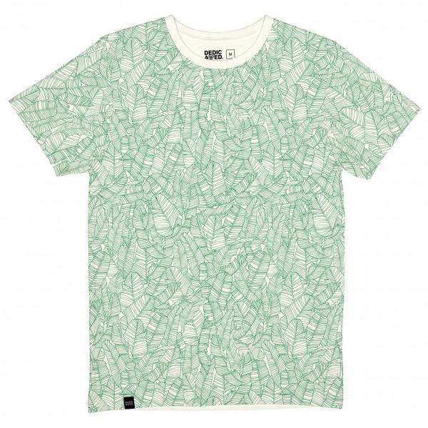 DEDICATED - T-Shirt Stockholm Palm Leaves Pattern - T-Shirt