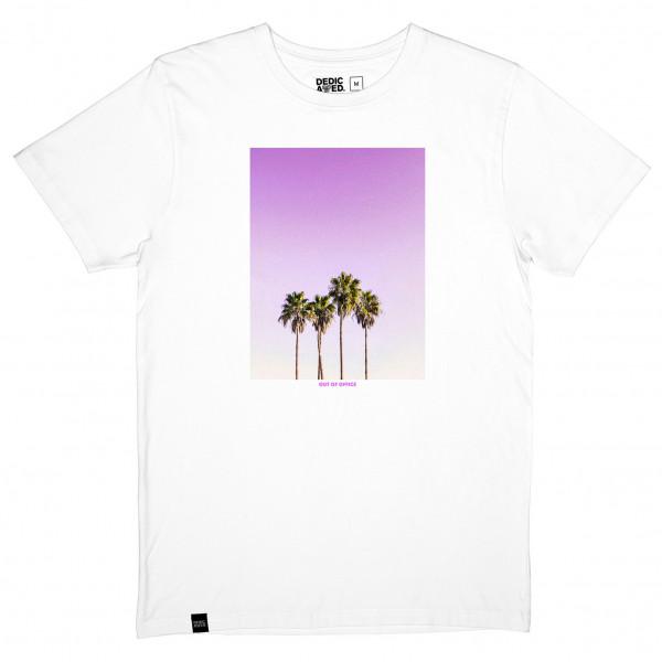 DEDICATED - T-Shirt Stockholm Purple Palms - T-shirt