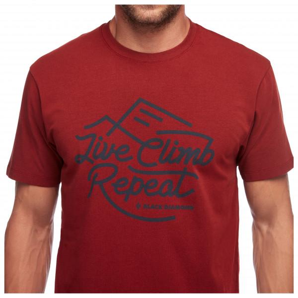 Black Diamond - Live Climb Repeat Tee - T-shirt