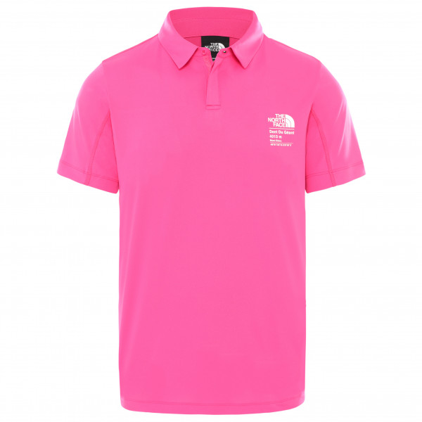 The North Face - Glacier S/S Polo - Camiseta funcional