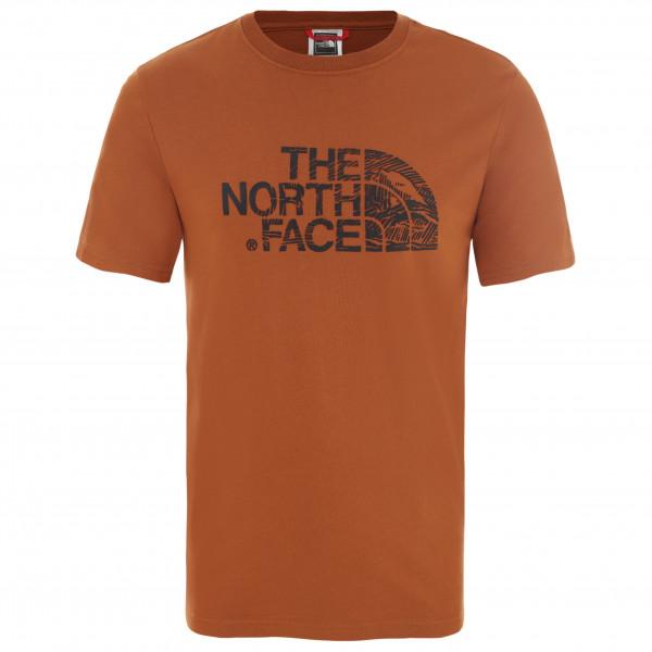 The North Face - S/S Wood Dome Tee - Camiseta de manga corta