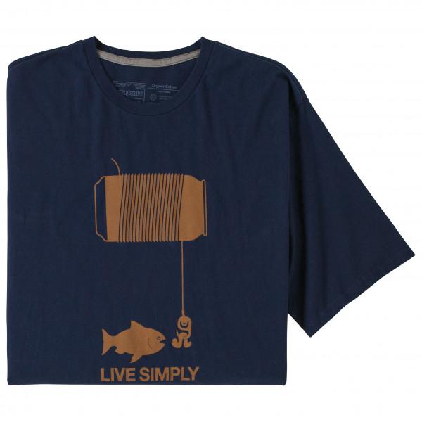 Patagonia - Live Simply Happy Hour Organic - T-shirt