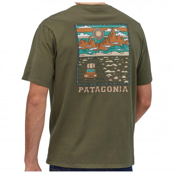 Patagonia - Summit Road Organic T-Shirt - Camiseta de manga corta