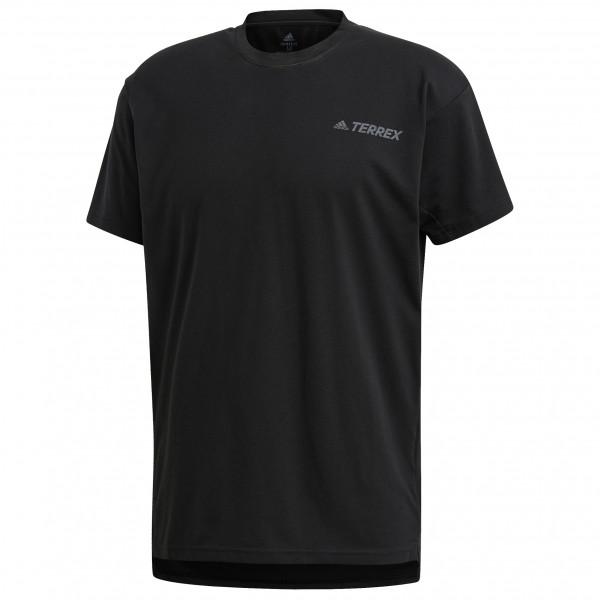 adidas - Primeblue Log Tee - Sport shirt
