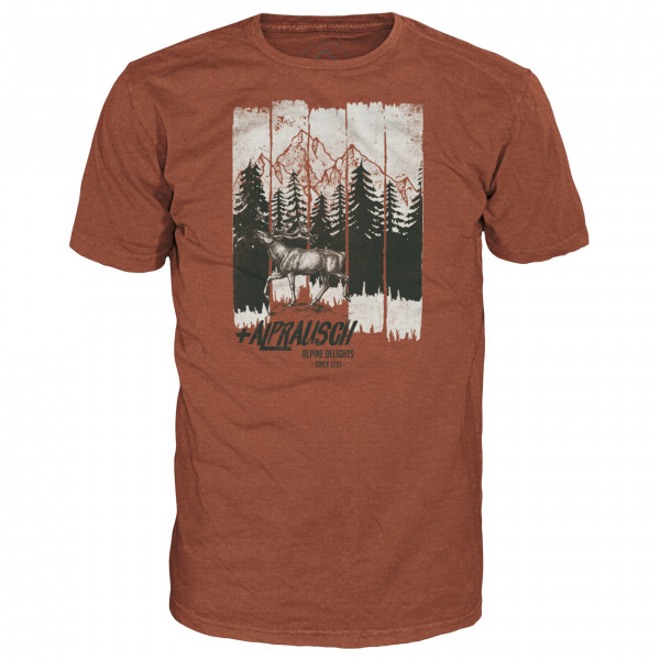 Alprausch - Wildi Hirsch Merino Shirt - T-Shirt
