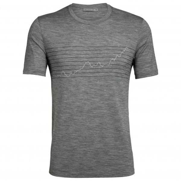 Icebreaker - Tech Lite S/S Crewe Global Heat Index - T-Shirt
