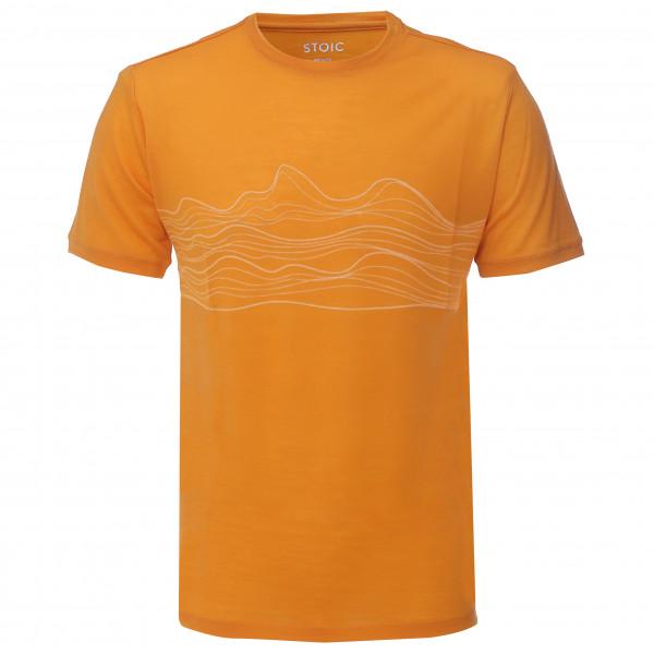 Stoic - T150 Merino S/S HavslinjeSt. - T-shirt