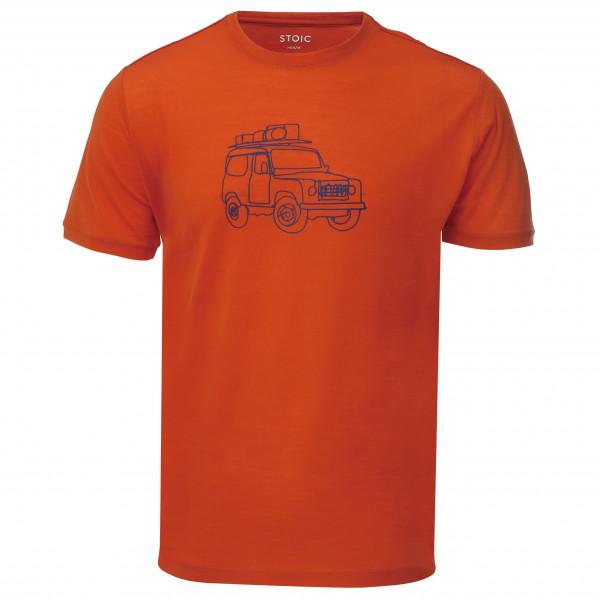Stoic - T150 Merino S/S StadsjeepSt. - T-Shirt
