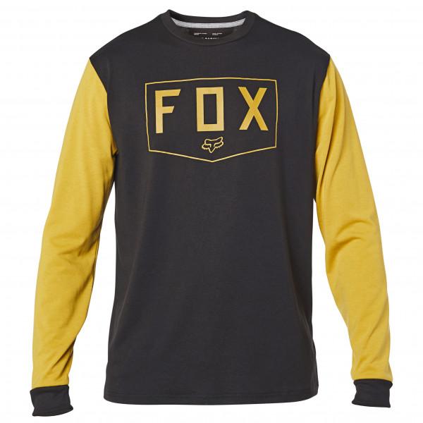 FOX Racing - Shield L/S Tech Tee - Camiseta de manga larga