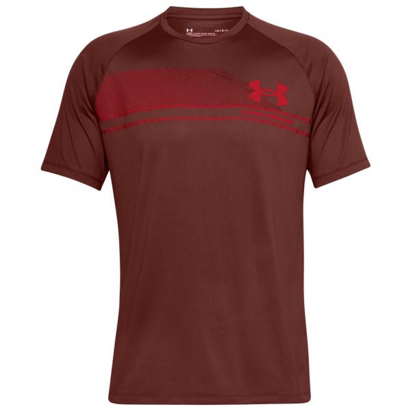 Under Armour - Logo Wordmark Tech S/S - Sport shirt