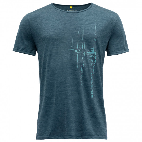Devold - Langfjorden Tee - Merino shirt