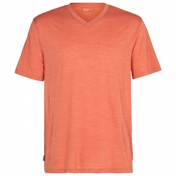 Nature Dye Drayden S/S V-Neck - Merino shirt
