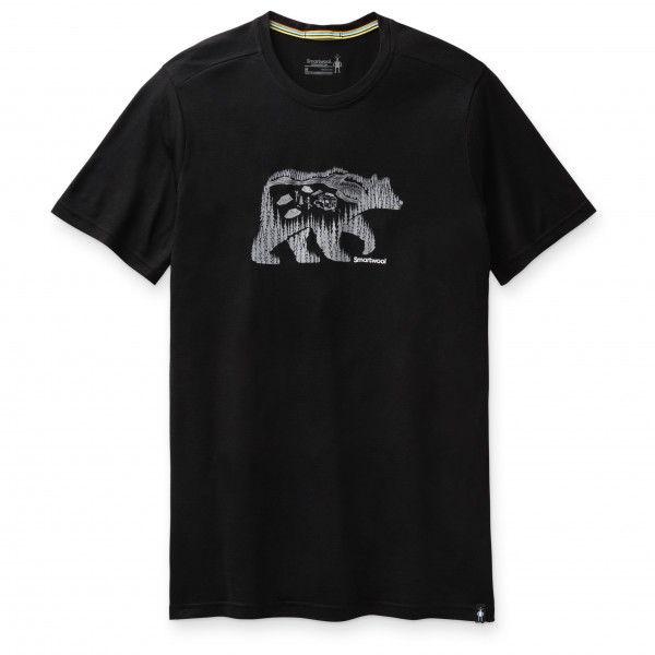 Smartwool - Merino Sport 150 Bear Camp Graphic Tee - Camiseta de merino