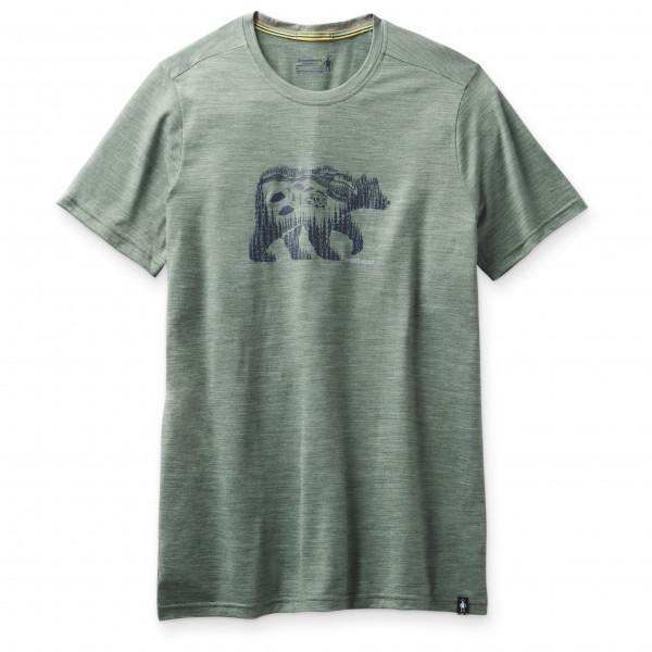 Smartwool - Merino Sport 150 Bear Camp Graphic Tee - T-shirt en laine mérinos